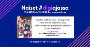 naiset digiajassa 2.5.2018